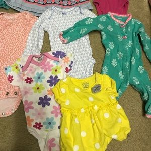 Baby Girl onsies and outfits